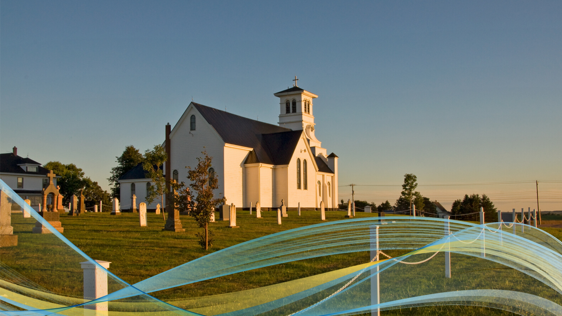 Image of church in Summerfield, PEI