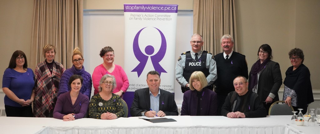 Group image of Premier's Action Committee on Family Violence Prevention, 2020